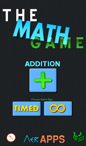 The Math Game - Addition