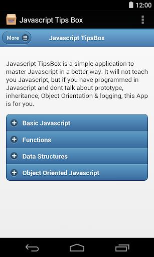 Javascript Tips Box