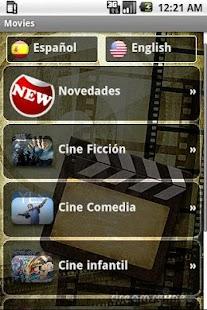 Películas online: miniatura de captura de pantalla