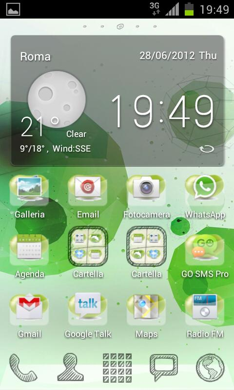 Inverted Jelly Bean GO/NOVA - screenshot