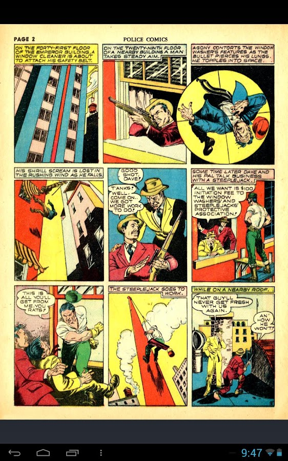 GoldenCat: Golden Age Comics - screenshot