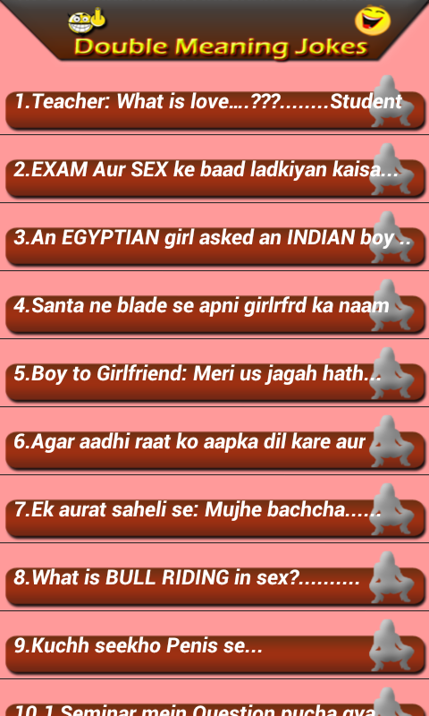 Download the Double meaning Jokes - Adult Android Apps On