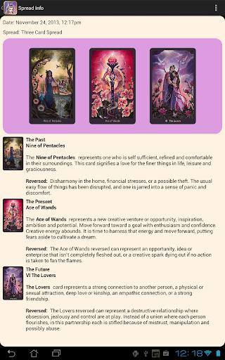 【免費娛樂App】Crystal Visions Tarot-APP點子
