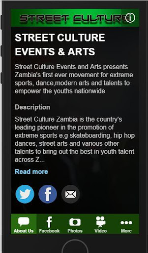Street Culture Zambia App