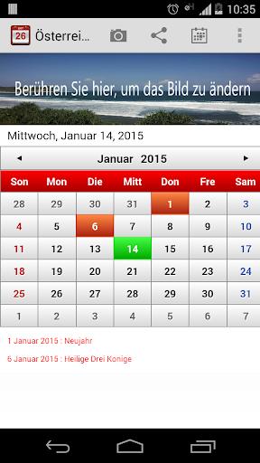 Österreich Kalender