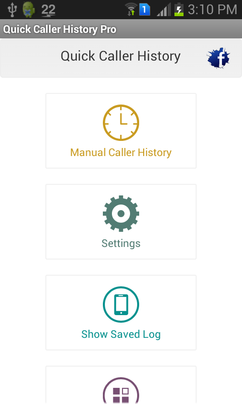 Quick Caller History- screenshot