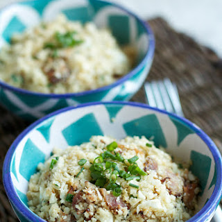 Cauliflower Rice with Bacon and Chives