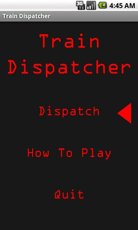 Train Dispatcher- screenshot
