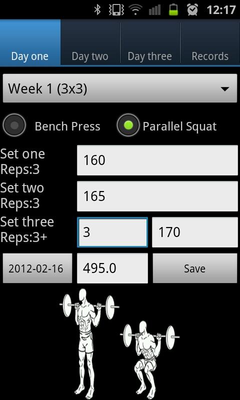 Athletic Strength Program - screenshot