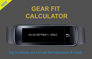 Screenshot of Gear Fit Calculator