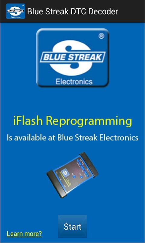 Blue Streak DTC Decoder - screenshot