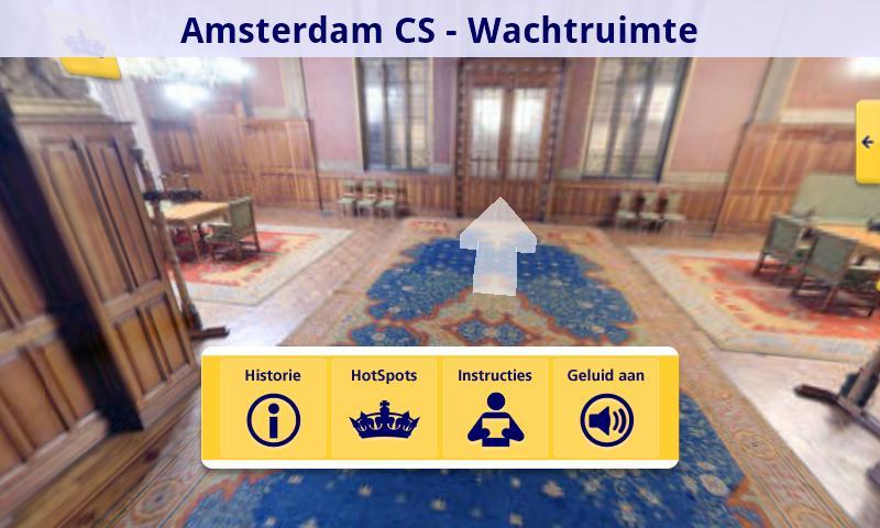 NS Koninklijke Wachtkamers - screenshot