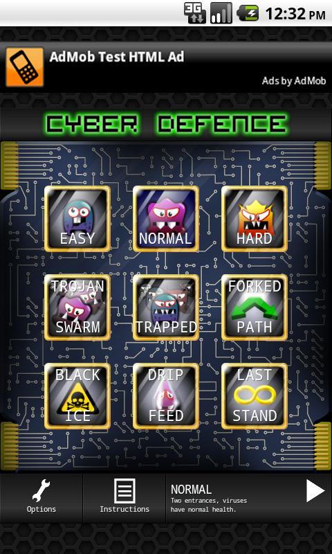 Cyber Defense- screenshot