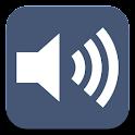 Volume in Notification logo