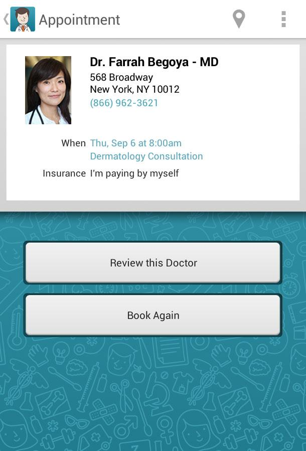 ZocDoc - Book a Doctor Online! - screenshot