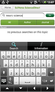 SciVerse ScienceDirect - screenshot thumbnail