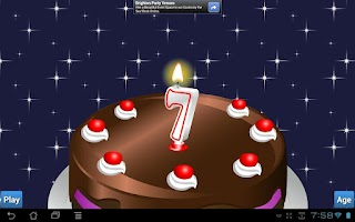 Screenshot of Blow Candle