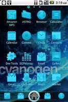 Screenshot of CyanogenMod ADW Theme