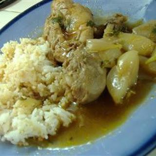 Greek Chicken Stew (Stifado)