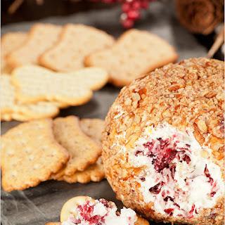 Easy Cranberry-Pecan Cheese Ball.