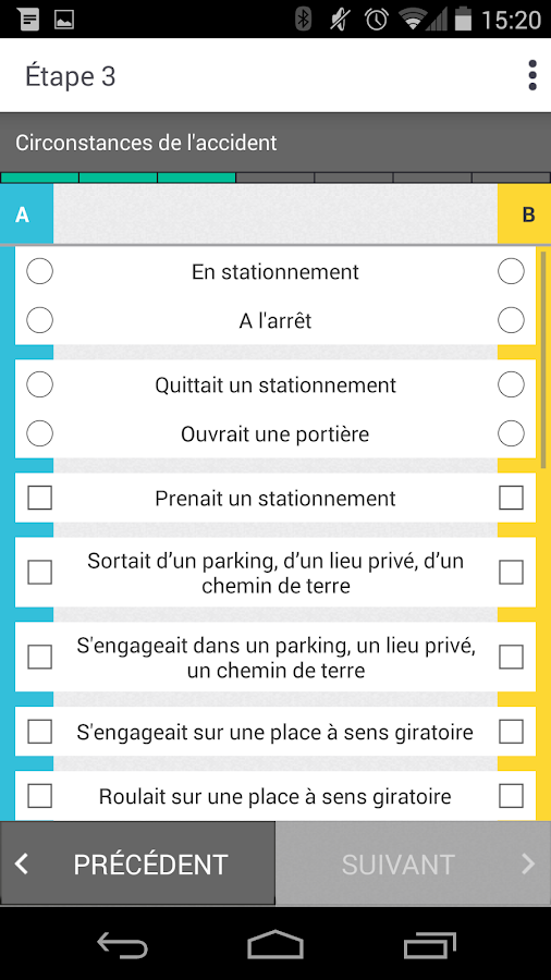 e-constat auto- screenshot