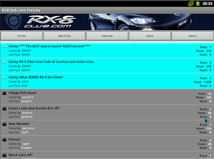 RX8Club.com Forum *BETA* - screenshot thumbnail