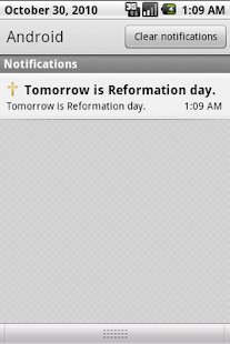 Protestant Calendar- screenshot thumbnail