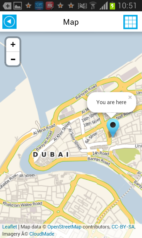 Dubai offline map guide hotels android apps on google play for Map of dubai hotels