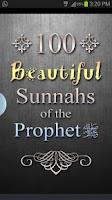 Screenshot of 100 Beautiful Sunnahs