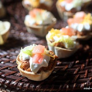 Mini Taco Bites.