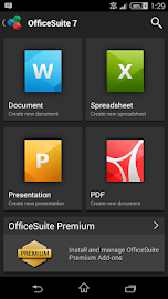 OfficeSuite 7 + PDF to Word Screenshot 2