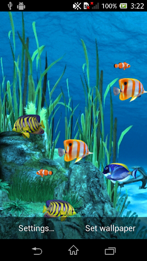 Galaxy Aquarium Live Wallpaper