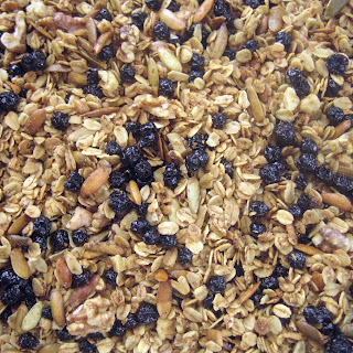 Maple Blueberry Granola