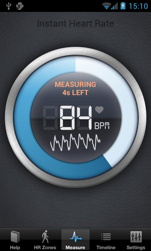 Instant Heart Rate - screenshot