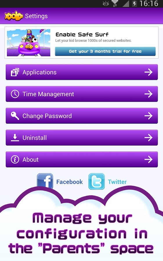App Kids: Parental Control - screenshot