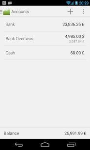 Financius - Expense Manager - screenshot thumbnail