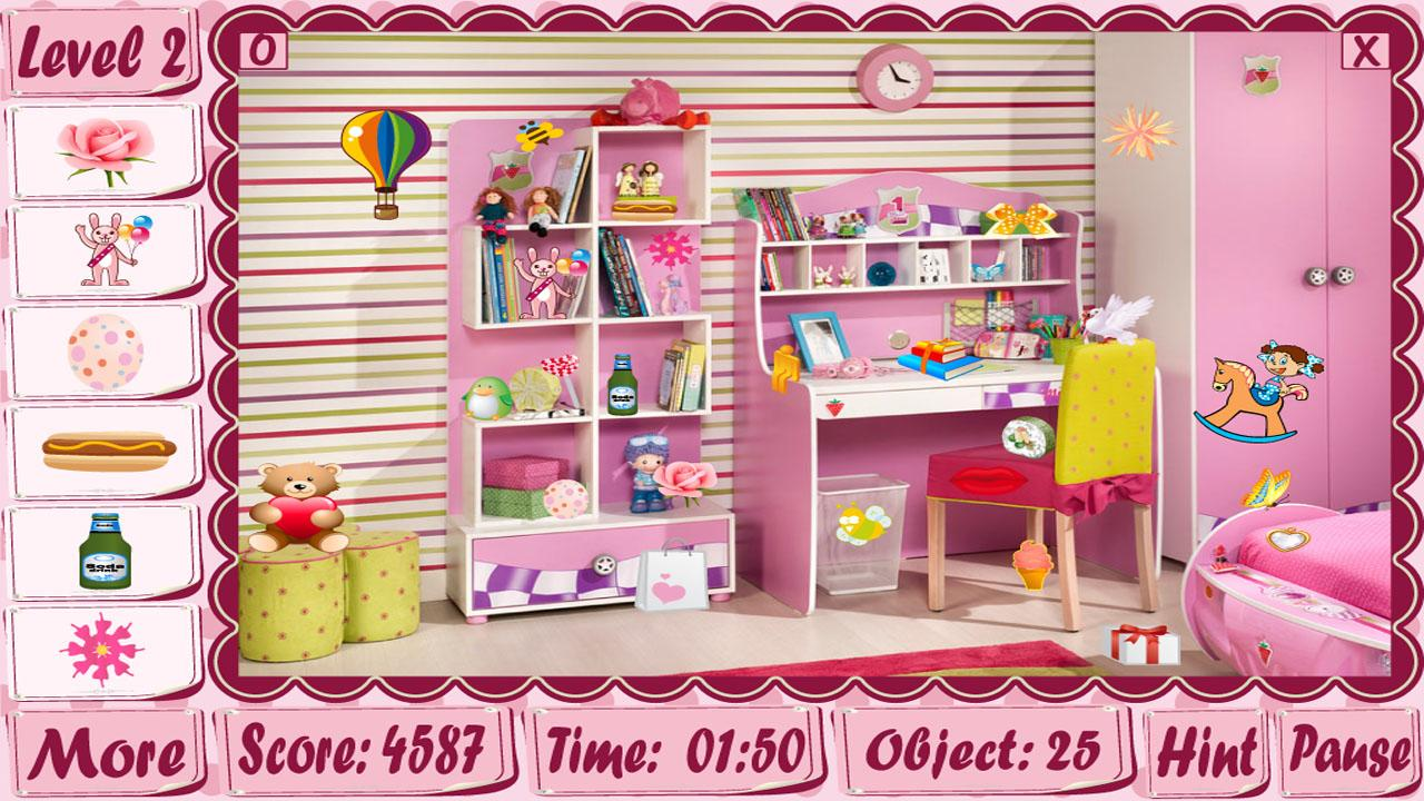 girl rooms hidden object game - android apps on google play