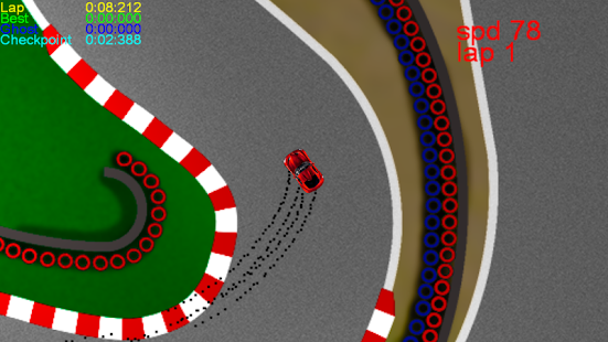 Z-Car Racing- screenshot thumbnail