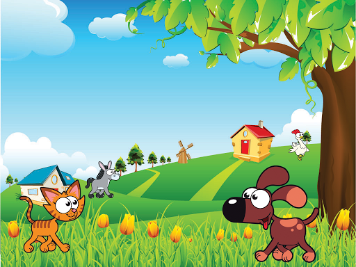 Animal sounds puzzle HD game (apk) free download for Android/PC/Windows screenshot