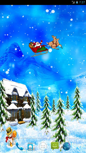 Christmas Snow Live Wallpaper