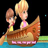 Row your Boat - Nursery Rhymes