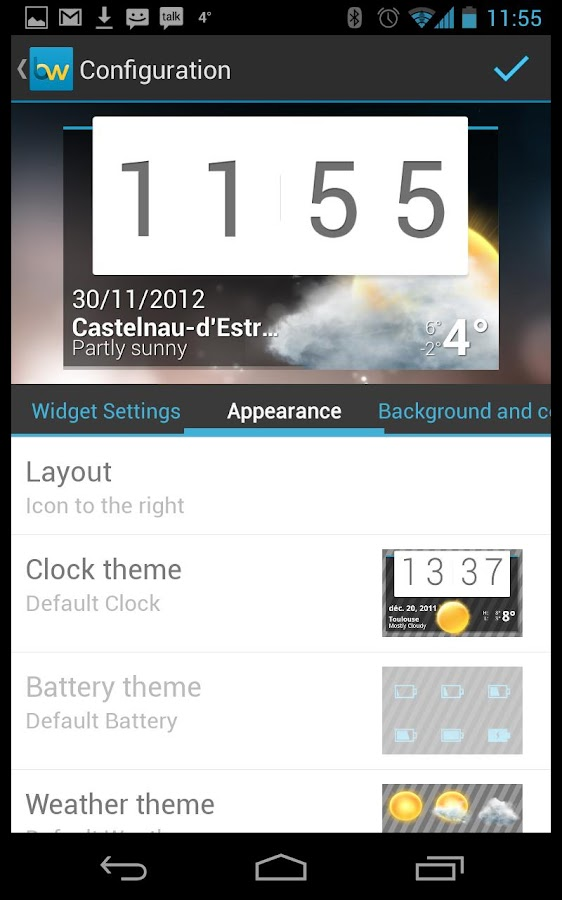 Beautiful Widgets Pro - screenshot