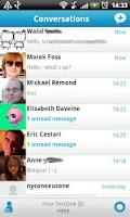 Screenshot of TextOne