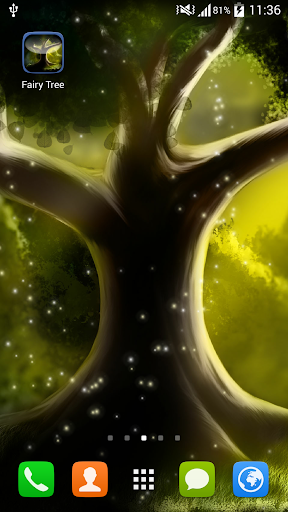 Fairy Tree Live Wallpaper