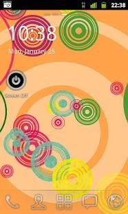 Retro Circles Live Wallpaper