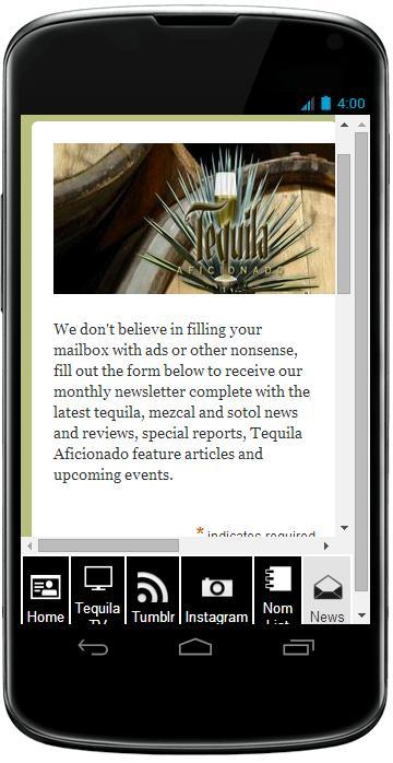 Tequila Aficionado- screenshot