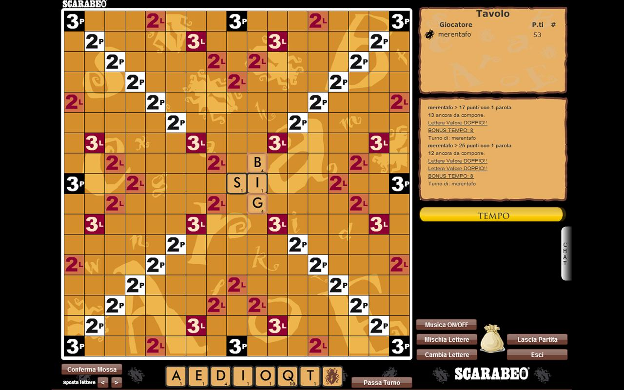Scarabeo Digital - screenshot