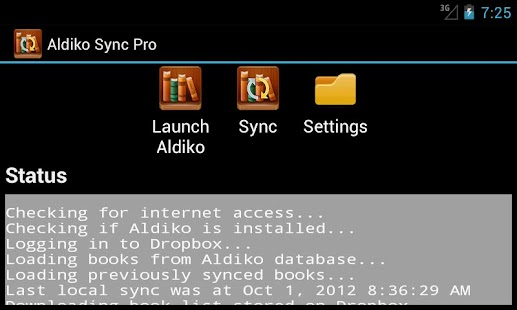 Aldiko Sync Pro Unlocker - screenshot thumbnail