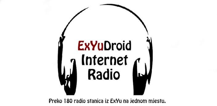 ExYuDroid Internet Radio - aplikacija za android