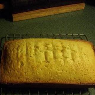 Buttermilk Pound Cake I